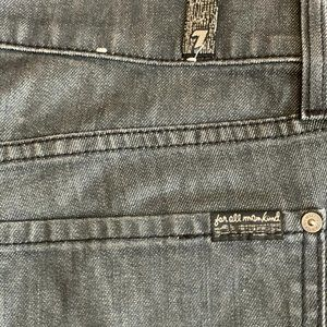 Men's 7 for all mankind  standard button up jeans